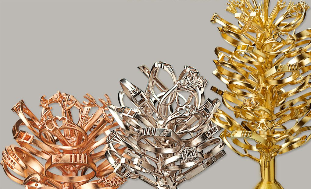 jewellery casting process in gold